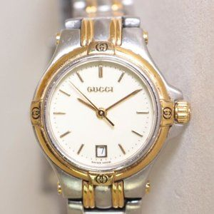 GUCCI Dual Tone Stainless Steel Watch